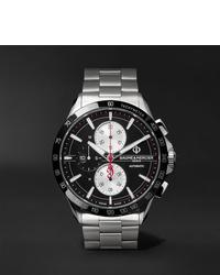 Мужские серебряные часы от Baume & Mercier