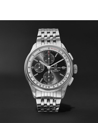 Мужские серебряные часы от Breitling