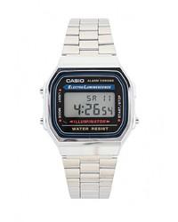 Мужские серебряные часы от CASIO