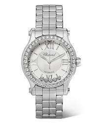 Женские серебряные часы от Chopard