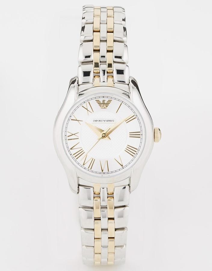 Женские серебряные часы от Emporio Armani   Где купить и с чем носить 4db2a792530