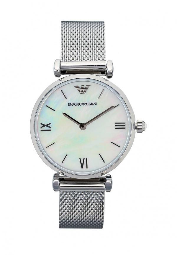 Женские серебряные часы от Emporio Armani   Где купить и с чем носить 25f5eb26fe4