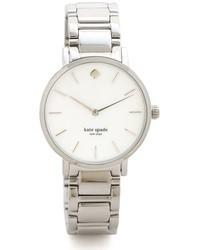 Женские серебряные часы от Kate Spade