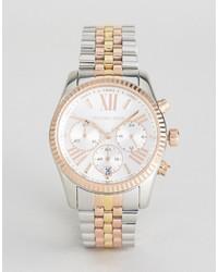 Мужские серебряные часы от Michael Kors
