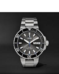 Мужские серебряные часы от Oris