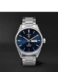 Мужские серебряные часы от Tag Heuer