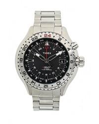 Мужские серебряные часы от Timex