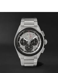 Мужские серебряные часы от Zenith
