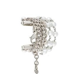 Серебряный браслет с украшением от MM6 MAISON MARGIELA