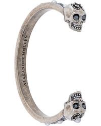 Серебряный браслет от Alexander McQueen
