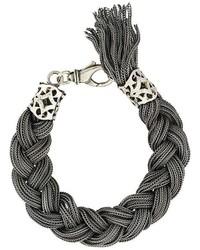 Мужской серебряный браслет от Emanuele Bicocchi