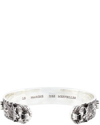 Мужской серебряный браслет от Gucci