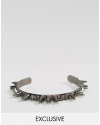 Мужской серебряный браслет от Reclaimed Vintage
