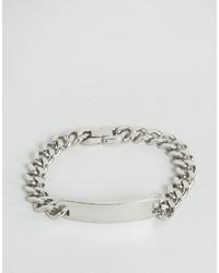Мужской серебряный браслет от Seven London