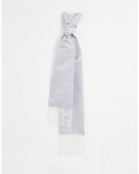 Мужской серебряный шарф от Twisted Tailor