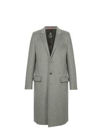 Серое длинное пальто от Loveless