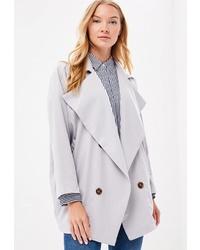 Женское серое пальто от Compañia Fantastica
