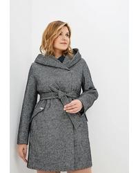 Женское серое пальто от Electrastyle