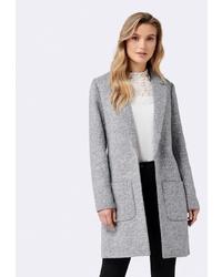 Женское серое пальто от Forever New