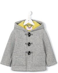 Детское серое пальто для мальчику от Il Gufo