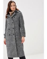 Женское серое пальто от Incity