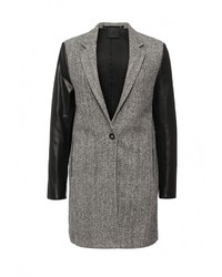 Женское серое пальто от Replay