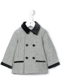 Детское серое пальто для мальчиков от Tartine et Chocolat