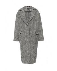 Женское серое пальто от Topshop