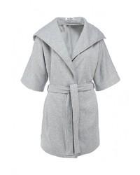 Женское серое пальто от Tutto Bene