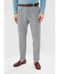 Серые брюки чинос в шотландскую клетку от O'stin