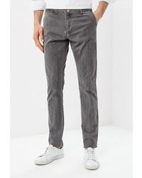 Серые брюки чинос от BAWER