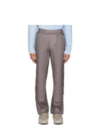 Серые брюки чинос от Craig Green