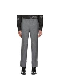 Серые брюки чинос от Givenchy