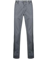 Серые брюки чинос от Incotex
