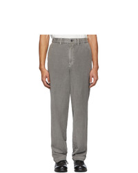 Серые брюки чинос от Issey Miyake Men