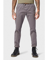 Серые брюки чинос от Tom Tailor Denim
