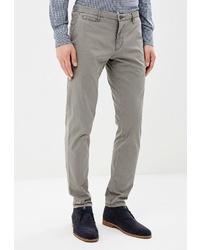 Серые брюки чинос от W.Wegener