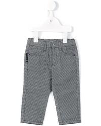 Детские серые брюки для мальчику от Armani Junior