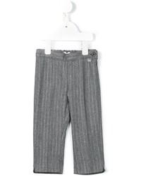 Детские серые брюки для девочке от Il Gufo