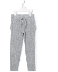 Детские серые брюки для девочке от Morley
