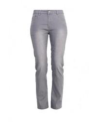 Женские серые джинсы скинни от G&G