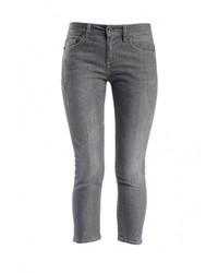 Женские серые джинсы скинни от Liu Jo