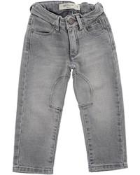 Детские серые джинсы для мальчиков