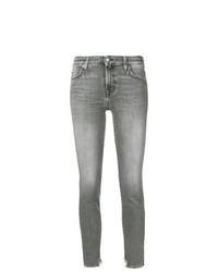 Женские серые джинсы от 7 For All Mankind