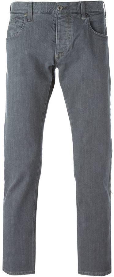 Мужские серые джинсы от Armani Jeans   Где купить и с чем носить a98a7e7f4ff