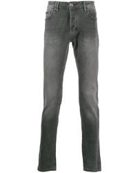 Мужские серые джинсы от Philipp Plein