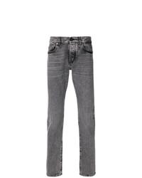 Мужские серые джинсы от Saint Laurent