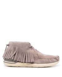 Серые замшевые ботинки дезерты от VISVIM