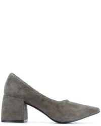 Серые замшевые туфли от Senso