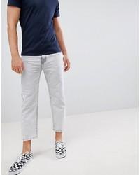 Мужские серые зауженные джинсы от Dr. Denim
